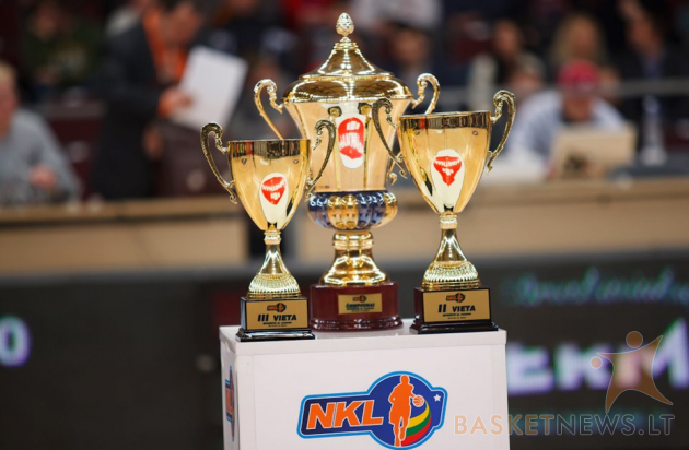NKL čempionai paaiškės balandžio 19 dieną