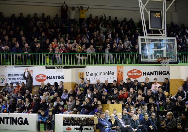 Marijampolėje LMKL finalo rungtynes stebėjo 512 žiūrovų