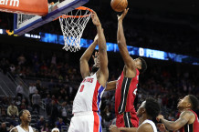 "Whiteside'as su sirena nužudė ""Pistons"""