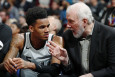 Dejounte'as Murray ir Greggas Popovich