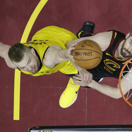 Domantas Sabonis, Kevinas Love'as